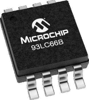 Narinco- 93LC66B-I/SN 4Kb Microwire (3-wire) Serial EEPROM
